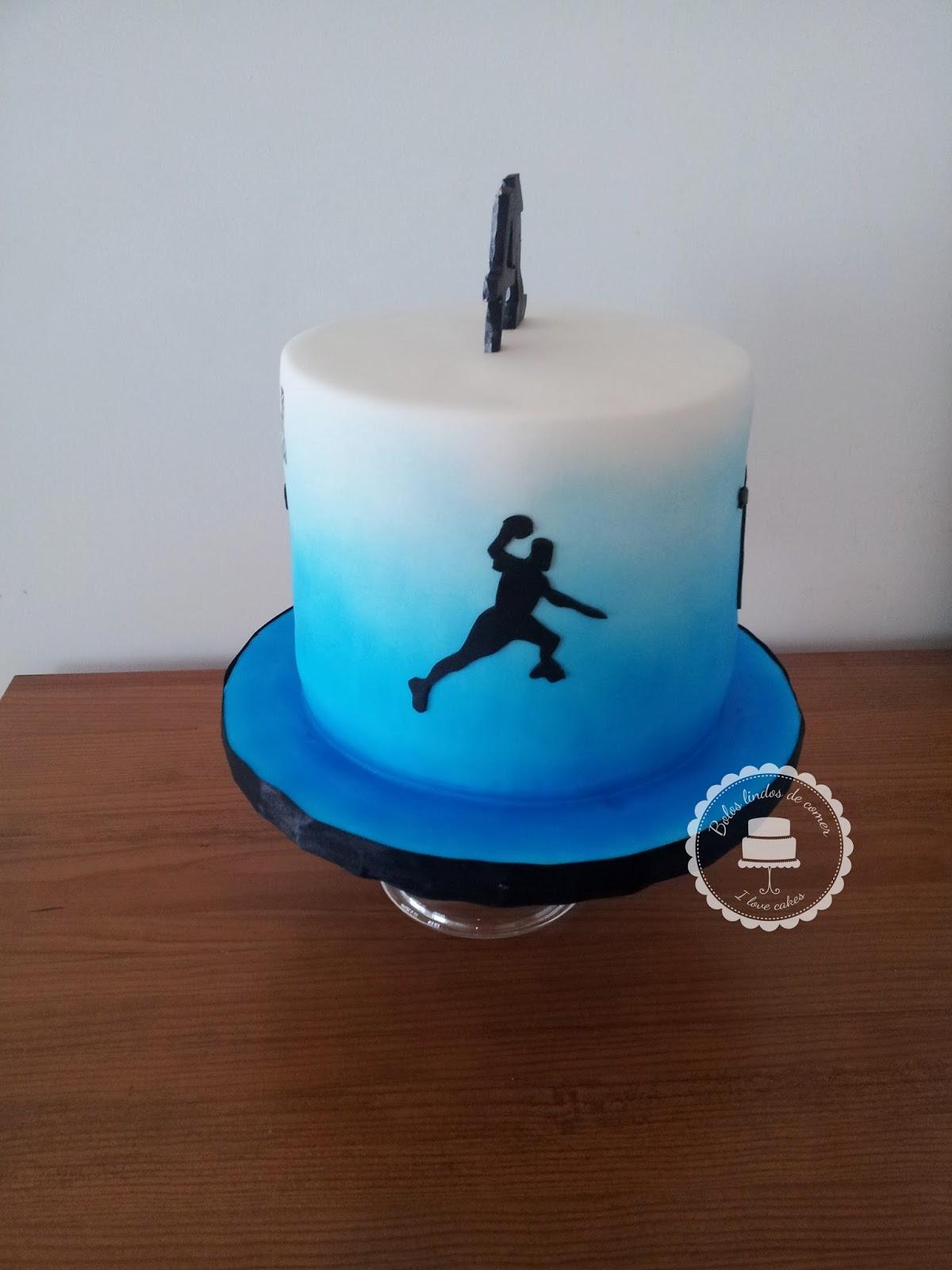 Bolos Lindos De Comer Bolo Andebol Handball Cake