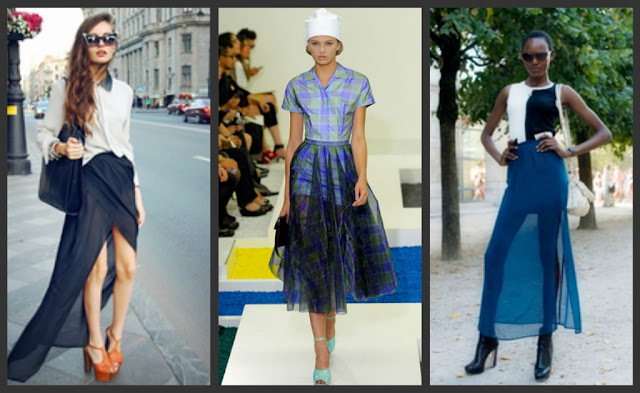 A Model's Secrets: Sheer Perfection - What to wear ...
