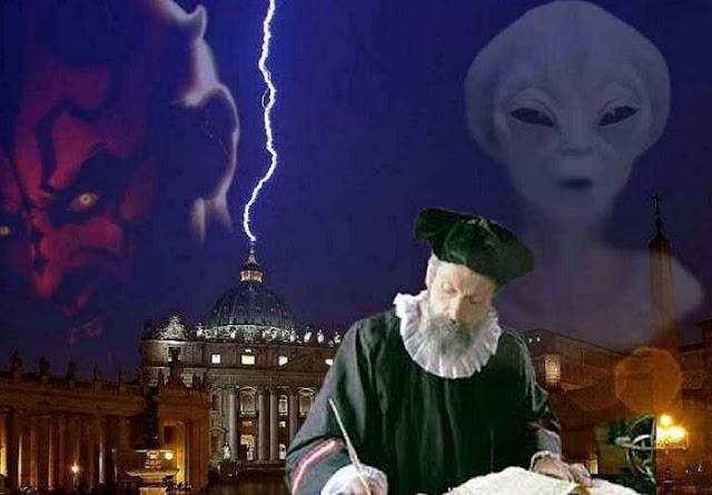 Le 7 spaventose profezie di Nostradamus per il 2020