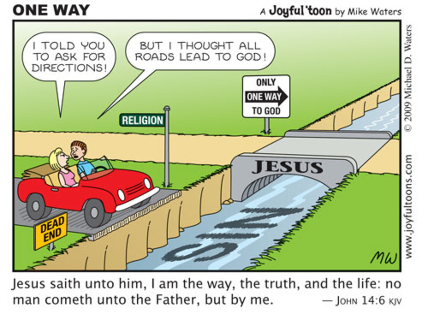 The gospel of Jesus Christ is the good news that God provided the only way for man to be freed from the penalty of sin (John 14:6; Romans 6:23).