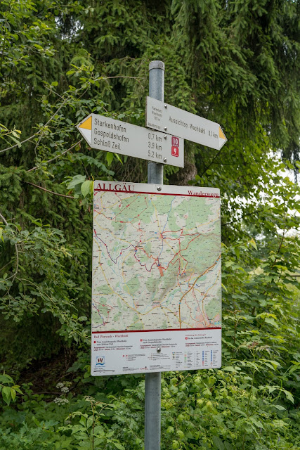 Wandertrilogie Allgäu  Etappe 11  Leutkirch-Bad Wurzach - Wiesengänger Route 07