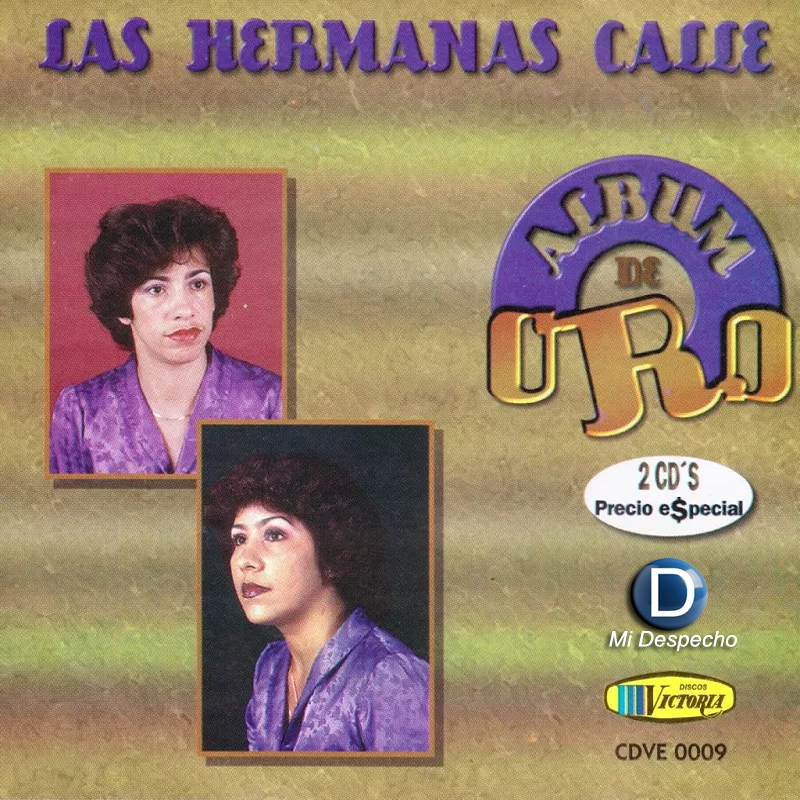 Las Hermanas Calle Album De Oro