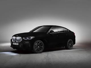 Noul BMW X6 Vantablack