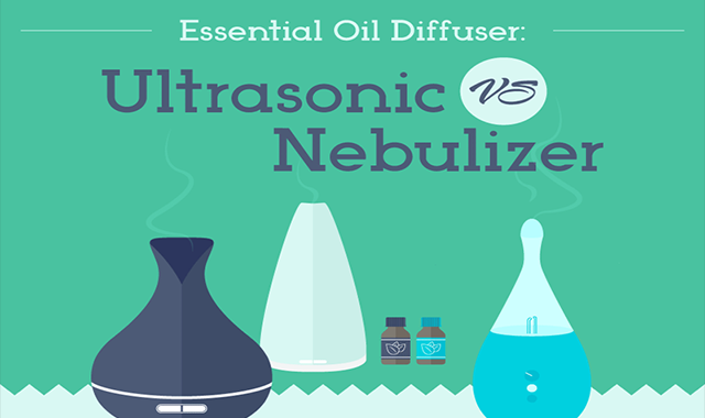 Essential Oil Diffuser: Ultrasonic vs Nebulizer #infographic