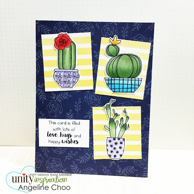 ScrappyScrappy: Frenzy of Unity Cards + [NEW VIDEOS] - Succulent Salutations #scrappyscrappy #unitystampco #card #cardmaking #youtube #quicktipvideo #craft #papercraft #handmade #succulent