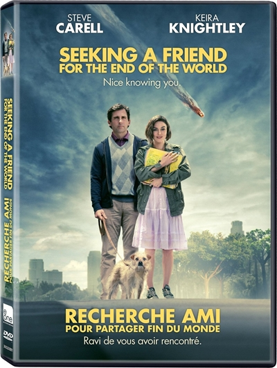 Seeking a Friend for the End of the World DVDR NTSC Español Latino Menú Full 2012