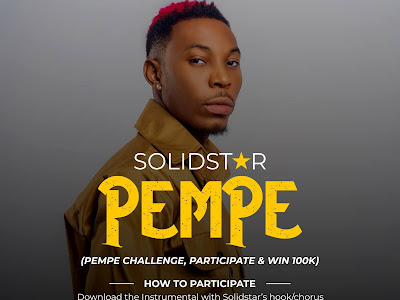 Join Solidstar's #PempeChallenge and stand a chance to win 100k