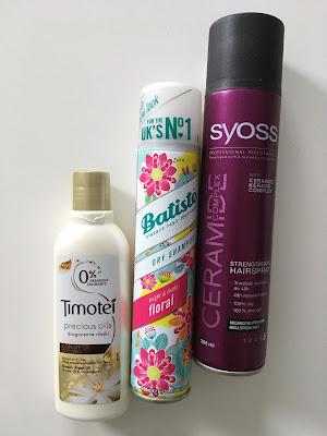 Timotei Precious Oil odżywka do włosów Batiste suchy szampon do włosów floral syoss ceramide wzmacniający lakier do włosów