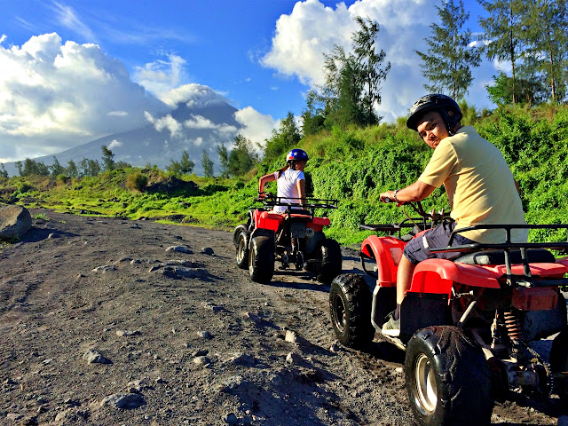 Marky Ramone Go and ATV ride in Mayon with Monette Santillan
