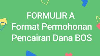 Format Pencairan Dana BOS Madrasah 2021