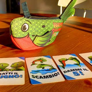 Happy Salmon - il gioco