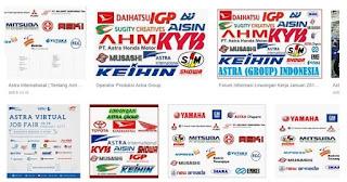 Lowongan kerja Terbaru Operator Produksi PT Astra Group, PT Astra Group Merupakan perusahaan manufacture otomotif. Saat ini Astra Group membuka lowongan kerja terbaru untuk lulusan SMA/SMK