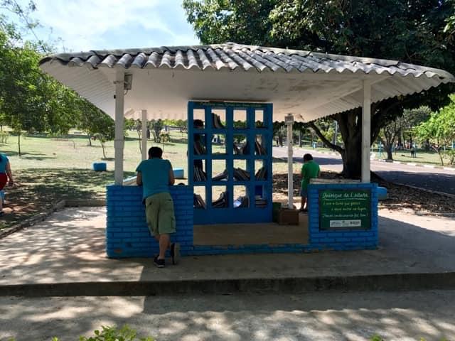 Parque CERET - Quiosque de leitura