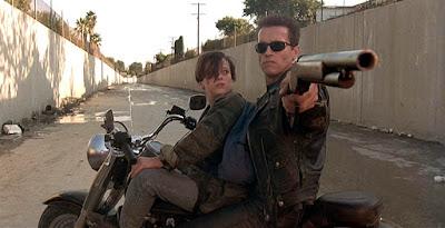 Dunia Sinema Terminator 2 T-800 dan John Connor