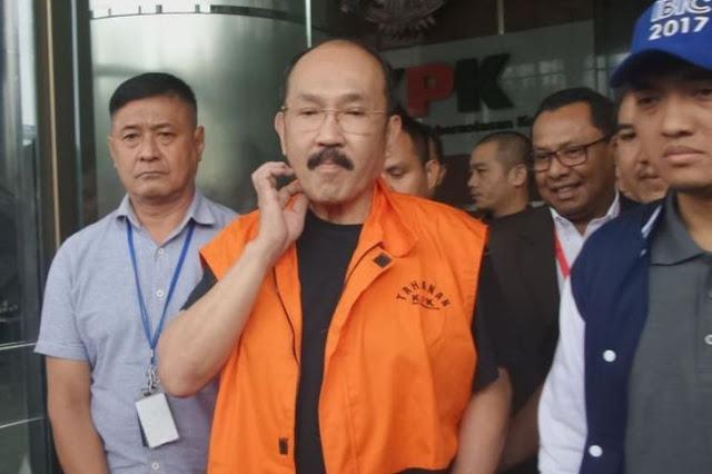 Pengacara Setya Novanto Fredrich Yunadi Ditangkap KPK