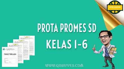 untuk perangkat SD Daring yang bisa di download secara gratis semester  Download Prota Promes PAI SD Kelas 1-6 Kurikulum 2013