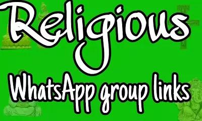 Religious WhatsApp group links