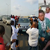 Sorrow In Lagos, As Doctor Stops Driver On 3rd Mainland Bridge And Jumps Into Lagoon (Photo)