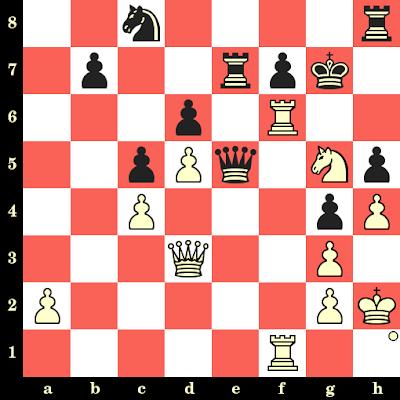 Les Blancs jouent et matent en 4 coups - Sarasadat Khademalsharieh vs Furtado Ivana Maria, Pune, 2014