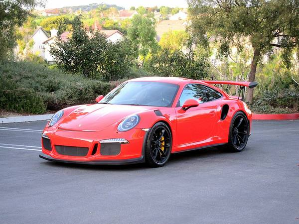 Craigslist Li Cars >> Lava Orange 2016 Porsche 911 GT3 RS | Auto Restorationice