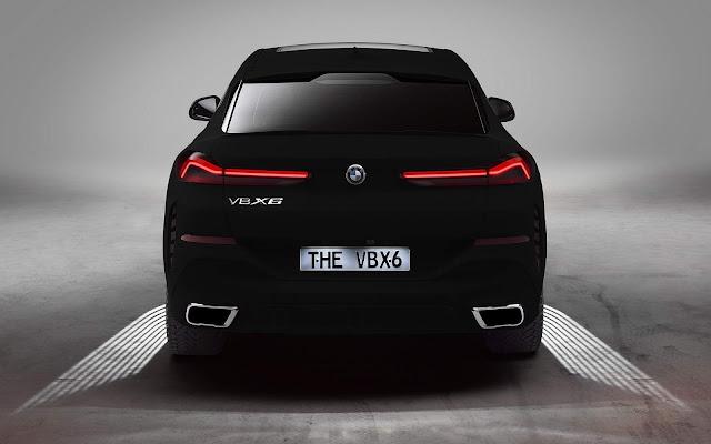 BMW X6 Vantablack: a pintura mais escura do mundo