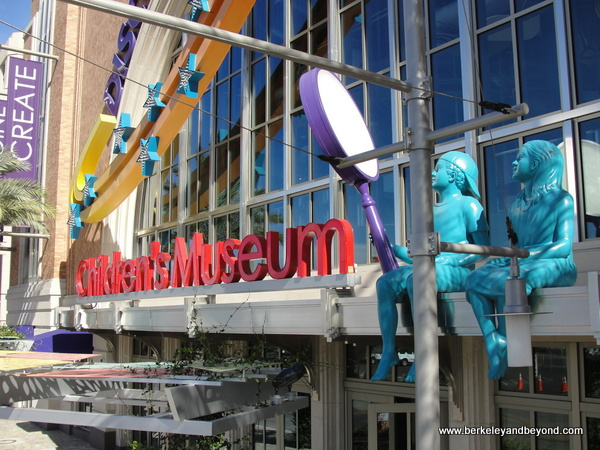exterior of DISCOVERY Children's Museum in Las Vegas, Nevada
