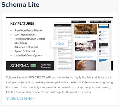 Schema Lite, Free WordPress Theme From Mythemeshop