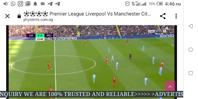 ⚽⚽⚽⚽ Premier League Liverpool Vs Manchester City Live HD ⚽⚽⚽⚽