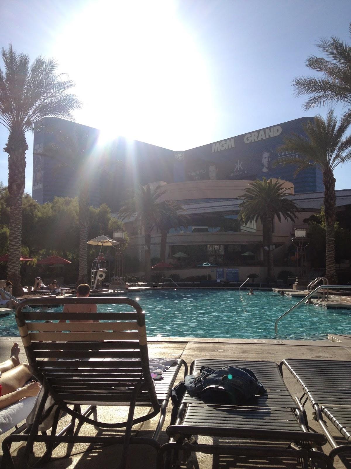 MGM Pool Las Vegas