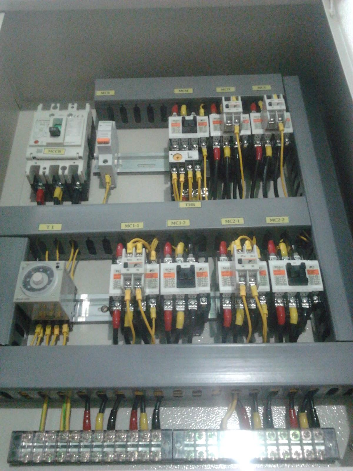 Etnik Sugitama Gambar Panel Kontrol Listrik Pompa Air 3 Phase