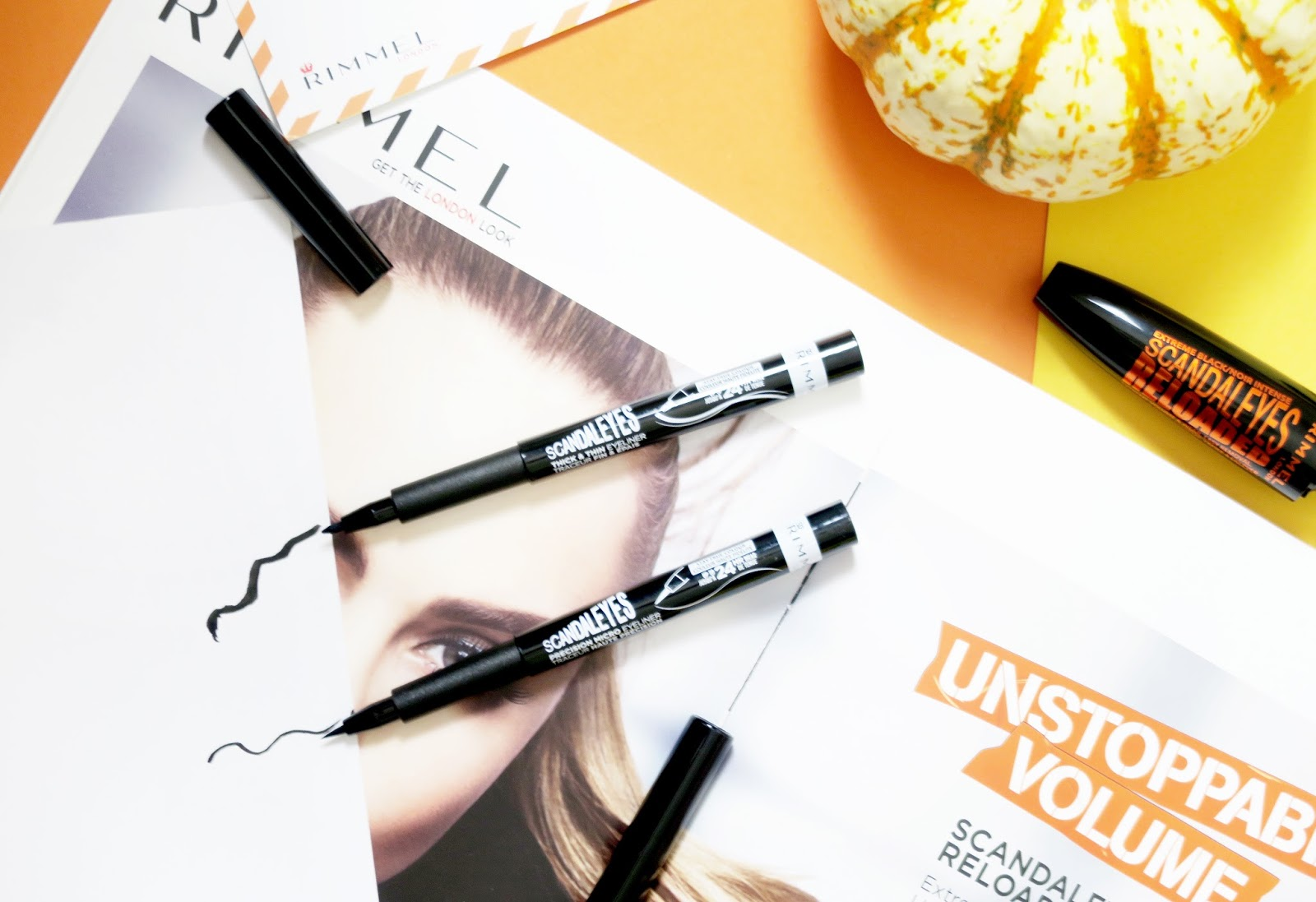 an image of Rimmel Scandaleyes Thick and Thin Eyeliner