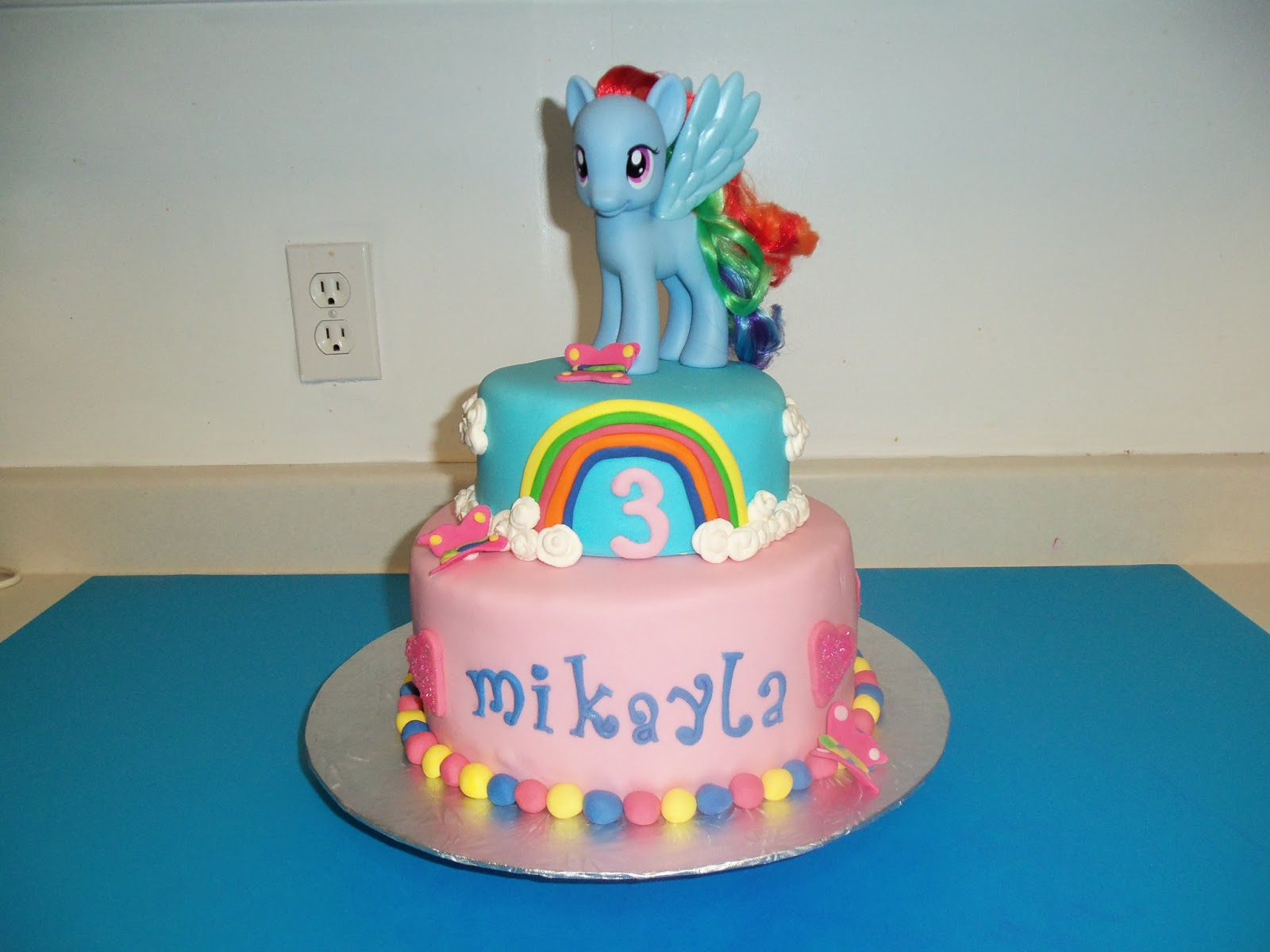 SugarBakers Cake Design My Little Pony Birthday cake
