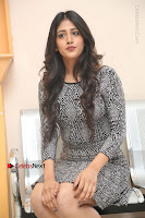 Actress Chandini Chowdary Pos in Short Dress at Howrah Bridge Movie Press Meet  0116.JPG