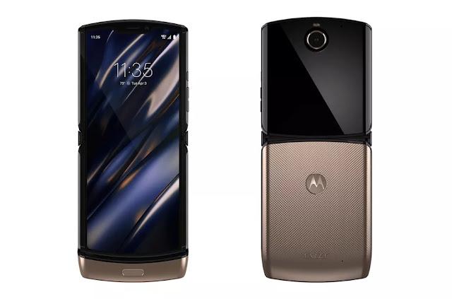 Le Motorola Razr Flip se dévoile en OR !
