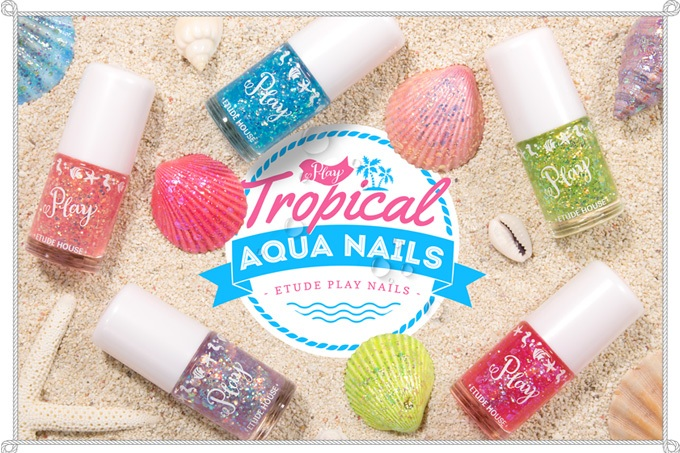 Etude House Play Tropical Aqua Nails