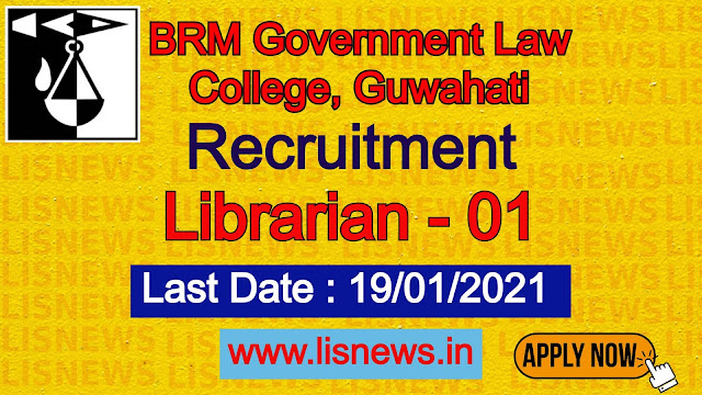 Librarian at BRM Govt. Law College