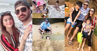 Syed Jibran Enjoying with Family at French Beach Karachi