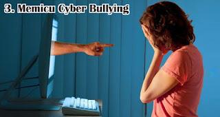 Memicu Cyber Bullying merupakan salah satu pengaruh buruk media sosial terhadap generasi milenial