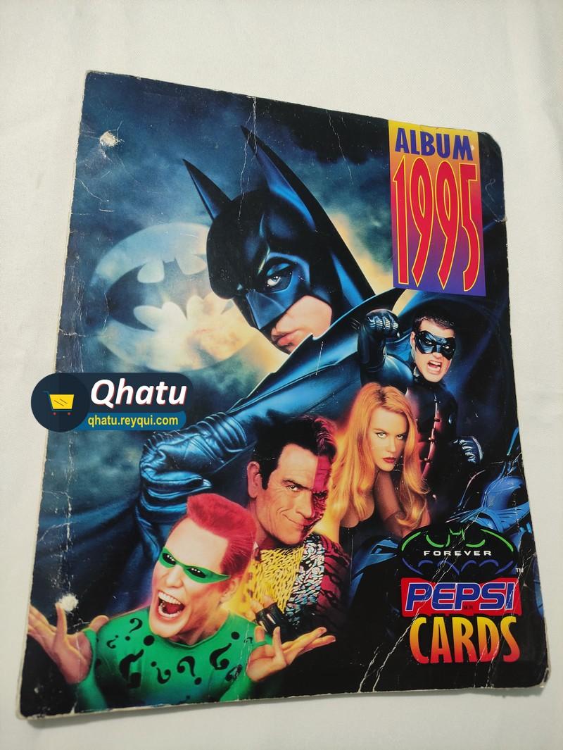 Álbum completo Batman Forever Pepsi Cards
