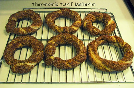 Step by step Turkish Sesame Bread Rings aka Simit recipe with Thermomix