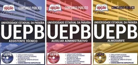 Apostila Concurso UEPB 2017