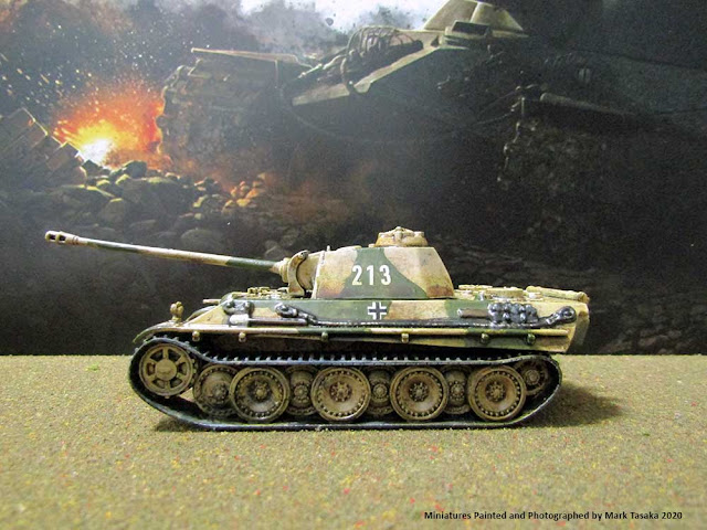 1/72 Italeri Panther (Ausf G) & Elite German Infantry