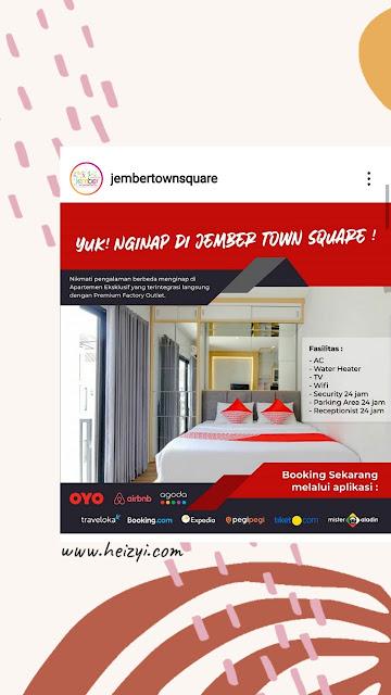 OYO Jember Town Square Residence