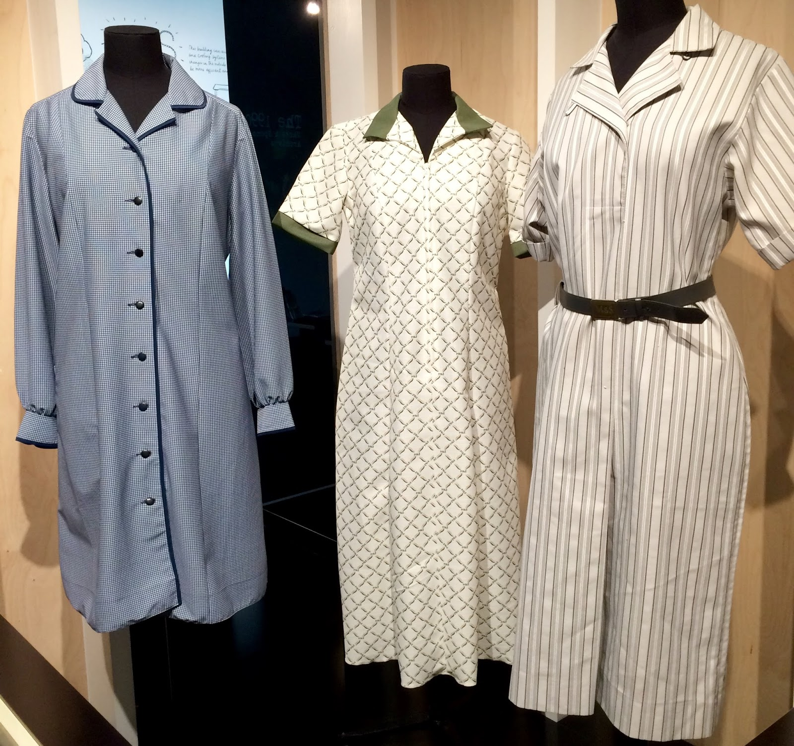 White apron marks and spencer - More Staff Uniforms I Remember The One On The Right