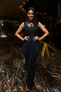 Actress Rakul Preet Singh Stills in Beautiful Blue Long Dress at Dhruva Salute to Audience Event  0127.JPG
