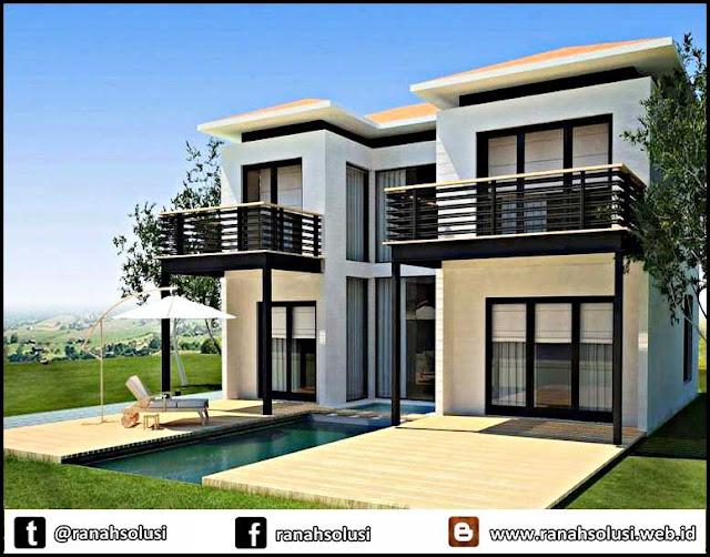 Gambar Desain Rumah Minimalis di Kampung