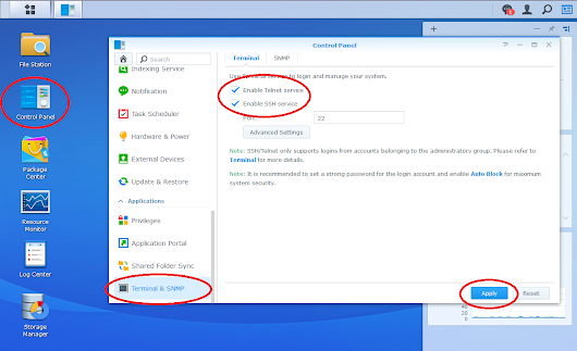 How to reboot Synology NAS from terminal when GUI is unresponsive