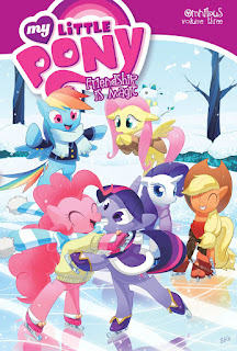 MLP Omnibus Volume 3 by IDW Cover by S. Bis