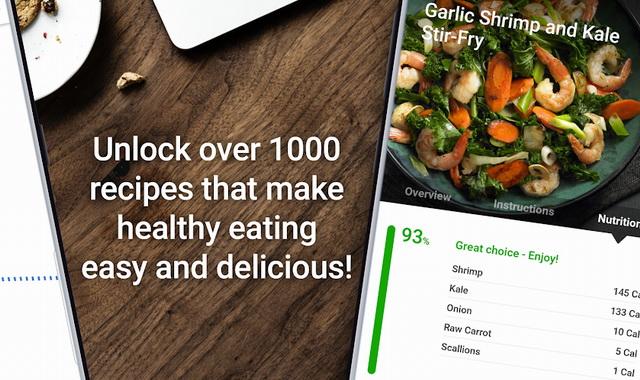 أفضل تطبيق لحساب السعرات الحرارية في الطعام للاندرويد