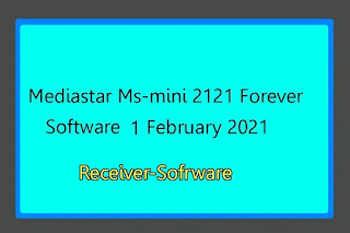 Mediastar Ms-mini 2121 Forever Software 01 February 2021